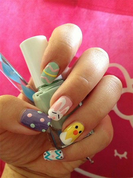 Amazing-Easter-Nail-Art-Designs-Ideas-2014-7