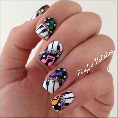 Amazing-Music-Nail-Art-Designs-Ideas-Trends-2014-10