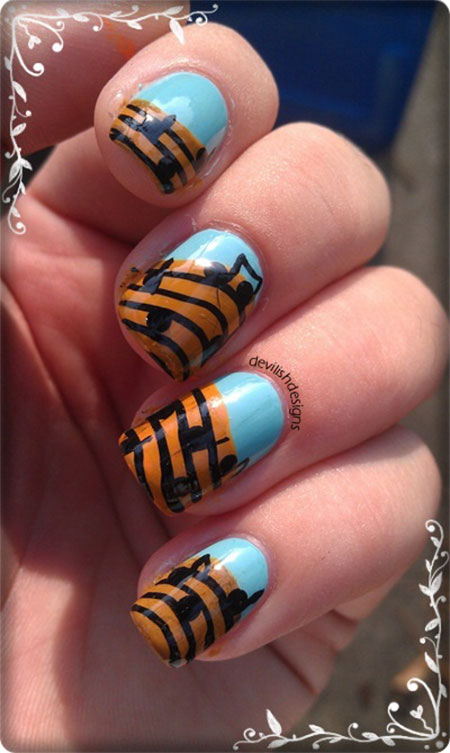 Amazing-Music-Nail-Art-Designs-Ideas-Trends-2014-12