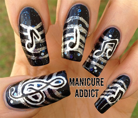 Amazing-Music-Nail-Art-Designs-Ideas-Trends-2014-14