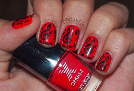 Amazing-Music-Nail-Art-Designs-Ideas-Trends-2014-7