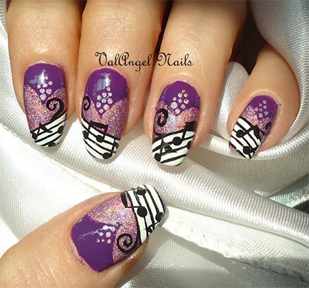 Amazing-Music-Nail-Art-Designs-Ideas-Trends-2014-8
