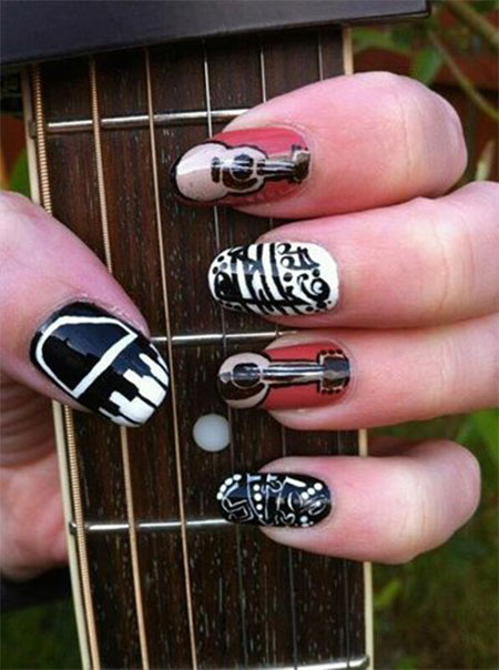 Amazing-Music-Nail-Art-Designs-Ideas-Trends-2014-9