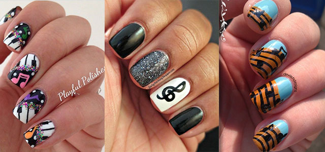 Amazing Music Nail Art Designs, Ideas & Trends 2014 | Fabulous Nail Art  Designs - Amazing Music Nail Art Designs, Ideas & Trends 2014 Fabulous