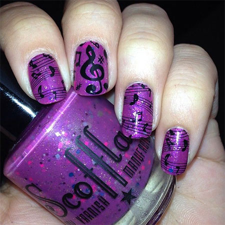 Amazing-Music-Notes-Nail-Art-Designs-Ideas-Trends-2014-10