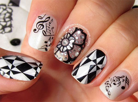Amazing-Music-Notes-Nail-Art-Designs-Ideas-Trends-2014-3