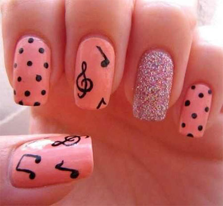 Amazing-Music-Notes-Nail-Art-Designs-Ideas-Trends-2014-6