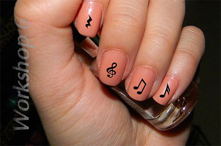 Amazing-Music-Notes-Nail-Art-Designs-Ideas-Trends-2014-7