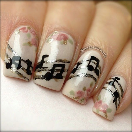 Amazing-Music-Notes-Nail-Art-Designs-Ideas-Trends-2014-9