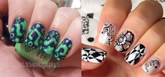 Nail art with music notes image collections nail art and nail amazing music notes nail art designs ideas trends 2014 amazing music notes nail art designs ideas prinsesfo Choice Image