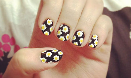 Nail Design Ideas 2012 nail design ideas 2016 colorful art designs orange 5 Amazing Spring Summer Nail Art Designs Ideas Trend