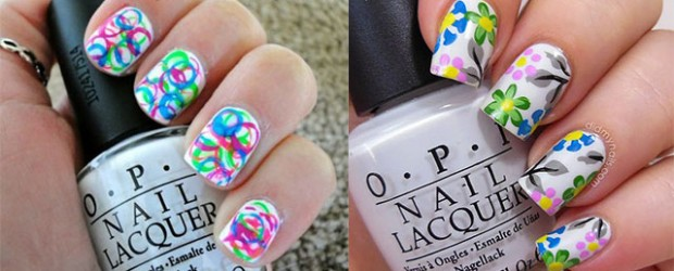 Amazing-Spring-Summer-Nail-Art-Designs-Ideas-Trend-2014
