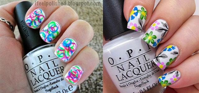 Amazing Spring Summer Nail Art Designs Ideas Trend 2014 F