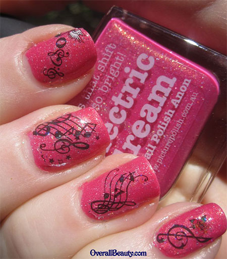 Cool-Music-Notes-Nail-Art-Designs-Ideas-Trends-2014-2