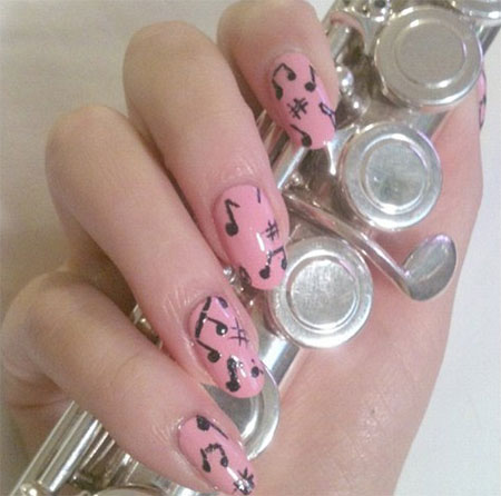 Cool-Music-Notes-Nail-Art-Designs-Ideas-Trends-2014-3
