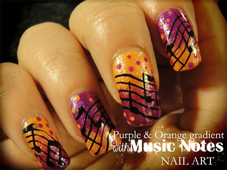 Cool-Music-Notes-Nail-Art-Designs-Ideas-Trends-2014-6