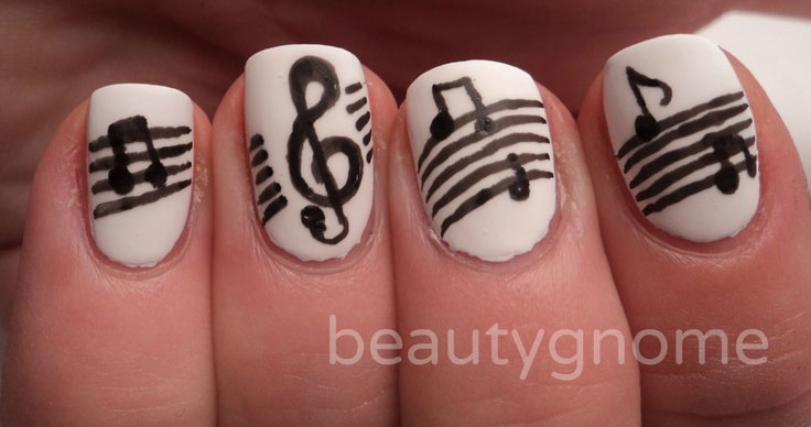 Cool-Music-Notes-Nail-Art-Designs-Ideas-Trends-2014-7