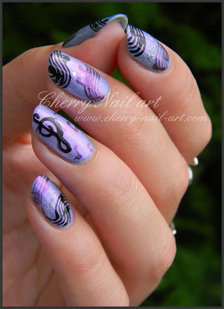 Cool-Music-Notes-Nail-Art-Designs-Ideas-Trends-2014-8