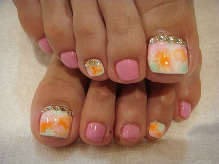 Cool-Spring-Toe-Nail-Art-Designs-Ideas-Trends-2014-1