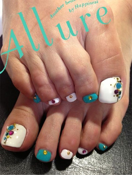 Cool-Spring-Toe-Nail-Art-Designs-Ideas-Trends- - Cool Spring Toe Nail Art Designs, Ideas & Trends 2014 Fabulous
