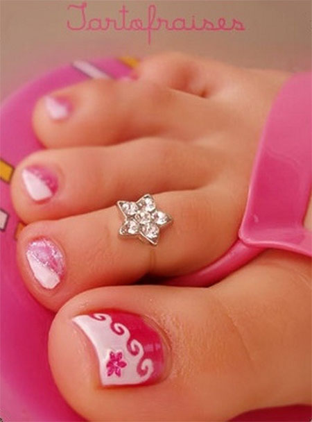 Cool-Spring-Toe-Nail-Art-Designs-Ideas-Trends-2014-9