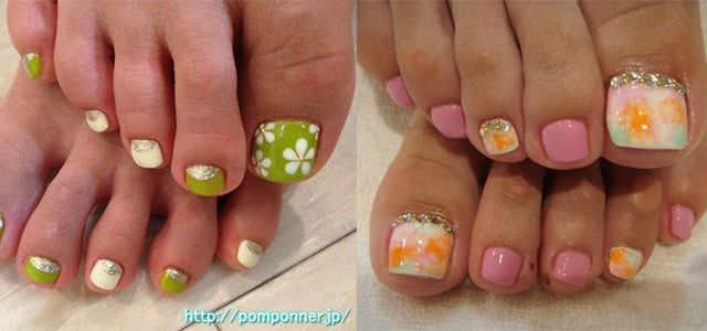 cool spring toe nail art designs ideas trends 2014 fabulous nail art designs - Toe Nail Designs Ideas