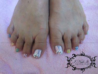 Easter Toe Nail Art - Easter Toe Nail Art Designs & Ideas 2014 Fabulous Nail Art Designs