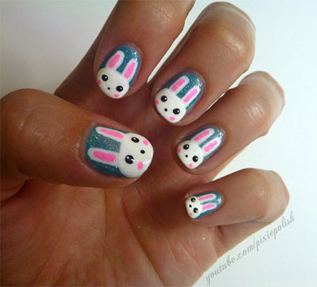 Easy-Easter-Bunny-Nail-Art-Designs-Ideas-2014-For-Beginners-2