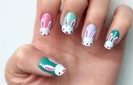 Easy-Easter-Bunny-Nail-Art-Designs-Ideas-2014-For-Beginners-7