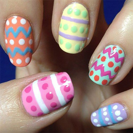 Easy easter themed egg nail art designs ideas 2014 fabulous easy easter themed egg nail art designs ideas prinsesfo Choice Image