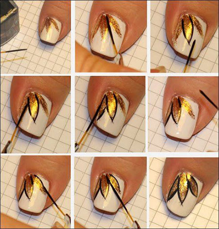 Easy-Simple-Spring-Nail-Art-Tutorials-2014-For-Beginners-Learners-3