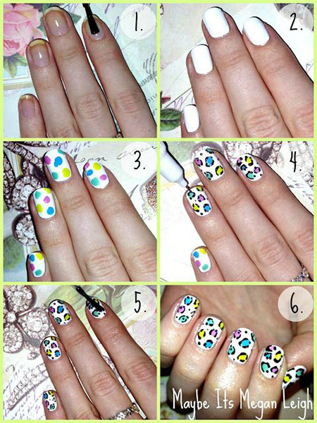 Easy-Simple-Spring-Nail-Art-Tutorials-2014-For-Beginners-Learners-4