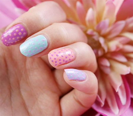 Easy-Spring-Nail-Art-Designs-Ideas-Trends-2014-For-Beginners-11