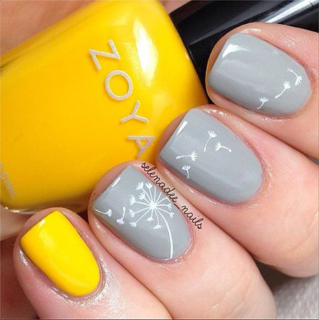 Easy-Spring-Nail-Art-Designs-Ideas-Trends-2014-For-Beginners-2