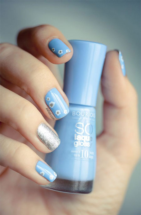 Easy-Spring-Nail-Art-Designs-Ideas-Trends-2014-For-Beginners-5