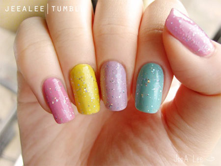 Easy-Spring-Nail-Art-Designs-Ideas-Trends-2014-For-Beginners-6