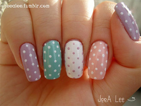 Easy-Spring-Nail-Art-Designs-Ideas-Trends-2014-For-Beginners-7