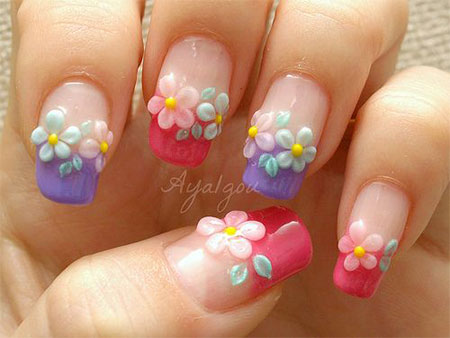 Easy-Spring-Nail-Art-Designs-Ideas-Trends-2014-For-Beginners-8