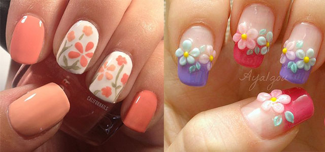 Easy Spring Nail Art Designs, Ideas & Trends 2014 For Beginners | Fabulous Nail  Art Designs - Easy Spring Nail Art Designs, Ideas & Trends 2014 For Beginners