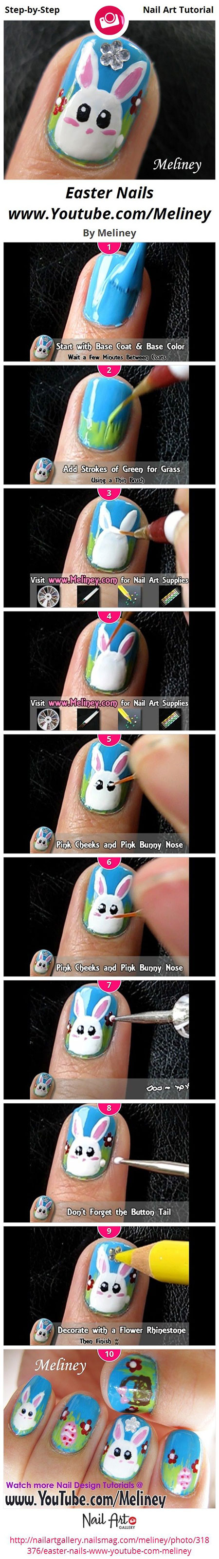 Elegant-Easter-Nail-Art-Tutorials-For-Beginners-Learners-2014-11