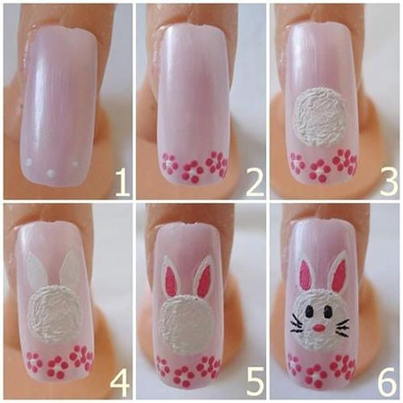Elegant-Easter-Nail-Art-Tutorials-For-Beginners-Learners-2014-3