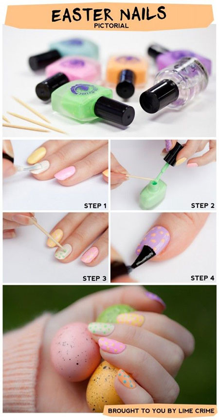 Elegant-Easter-Nail-Art-Tutorials-For-Beginners-Learners-2014-6