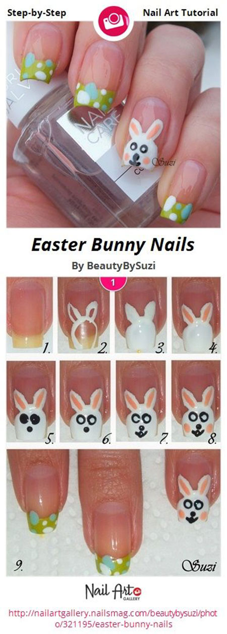 Elegant-Easter-Nail-Art-Tutorials-For-Beginners-Learners-2014-7