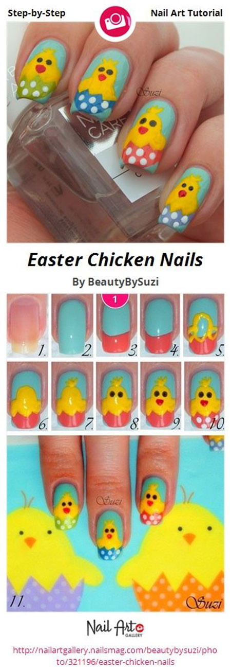 Elegant-Easter-Nail-Art-Tutorials-For-Beginners-Learners-2014-8