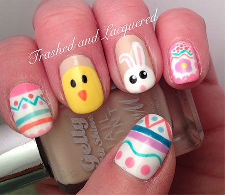 Easter Nail Art Designs - Inspiring Easter Nail Art Designs & Ideas 2014 Fabulous Nail Art