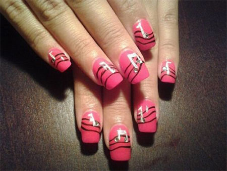 Inspiring-Music-Nail-Art-Designs-Ideas-Trends-2014-1