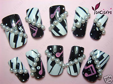Inspiring-Music-Nail-Art-Designs-Ideas-Trends-2014-10