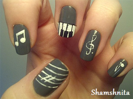 Inspiring-Music-Nail-Art-Designs-Ideas-Trends-2014-3