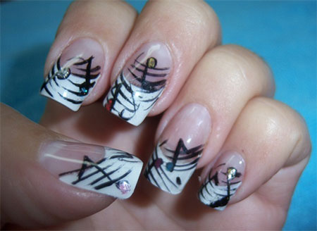 Inspiring-Music-Nail-Art-Designs-Ideas-Trends-2014- - Inspiring Music Nail Art Designs, Ideas & Trends 2014 Fabulous
