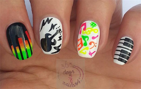 Inspiring-Music-Nail-Art-Designs-Ideas-Trends-2014-8